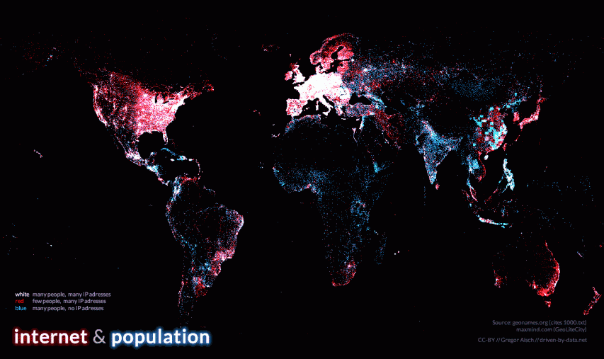 Visualization the global digital divide mapiful gumiabroncs Gallery