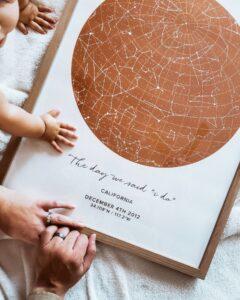 gaia star map wedding